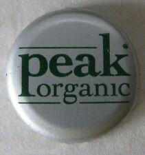 PEAK ORGANIC BREWING CO PORTLAND MAINE USED MICRO CRAFT PLASTIC LINED BEER CAP