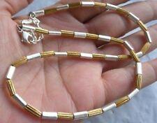 Très beau collier vintage couleur or et argent Top Qualité signé NAPIER 4974