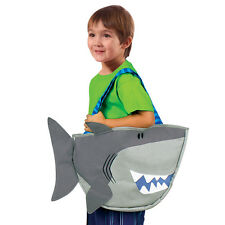 Stephen Joseph Shark Beach Tote Bag with Sand Toys for Kids