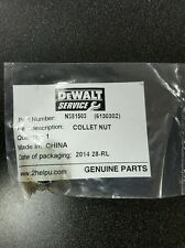 DEWALT N381503 COLLET NUT FOR LAMINATE TRIMMER DWE6000