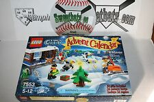 Lego City City 7553 Advent Calendar 2011 NIB New In Box Retired Sold Out