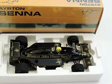 Ayrton Senna 1:18 Minichamps LOTUS J.P.S  Renault 98T 1986 f1 / car model, New