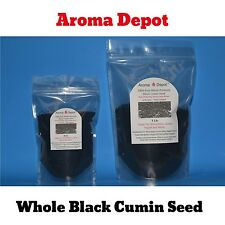 1 Lb. BLACK CUMIN SEED (NIGELLA SATIVA) Black Seed 100% PURE WHOLE PREMIUM Pouch