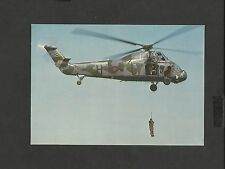 Dennis  Colour Helicopter Postcard  Westland Wessex HC2 unposted