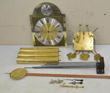 Cornwell JAUCH 77 Grandfather Clock Set MOVEMENT DIAL PENDULUM WEIGHTS CHIMES