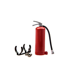 1/10 RC Rock Crawler Accessory Fire Extinguish & Brackets for Axial SCX10 RC4WD