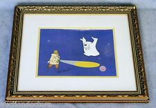 Pink Panther Cel Hand Signed by Friz Freleng GHOST HALLOWEEN 4092 1970s clouseau