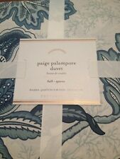 NWT Pottery Barn Paige Palampore Duvet Cover Full Queen F Q