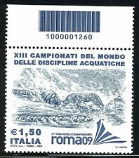 ITALIA 2009 CAMPIONATI MONDIALI NUOTO/WORLD SWIMMING CHAMPION. CODICE A BARRE
