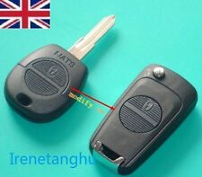 NISSAN NATS 2 BUTTON REMOTE CONVERSION FLIP KEY FOB CASE ALMERA MICRA PRIMERA