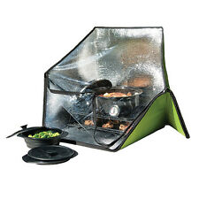 PORTABLE SOLAR OVEN FOR OUTDOOR SUN COOKING WHILE CAMPING