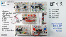 Electronic Breadboard Kit No 2 with instruction manual and power module