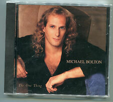 Michael Bolton The One Thing 1993 1st US Pressing Columbia CK53567 NewSealed