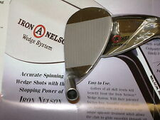 Iron Nelson Tour Issue 60 Degree Wedge Head Friction Face