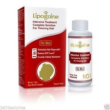 Lipogaine for Men: Intensive Treatment & Complete Solution for Hair Loss / Thinn