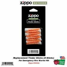 Zippo 8 Tinder Sticks, For:Emergency Fire Starter #44002