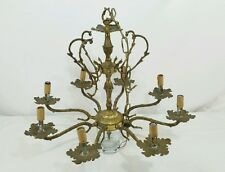 Vintage  Chandelier  Made in Spain 8 arms read entire listing