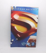 Superman returns  Manual instructions ps2 playstation 2