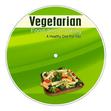 Vegetarian Food and Cooking Ebook On CD Rom + Resell Rights