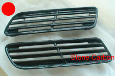 Carbon Fiber Hood Scoop Vent OE Style 2pcs Fit For 08-15 Lancer EVO X