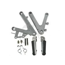 New Front Pedals Footrests Footpegs Bracket Set For HONDA CBR 250 MC 22 90-97 91