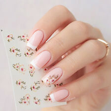Nail Art Water Decals Transfers Sticker Fashion Beautiful Flower Manicure Tips
