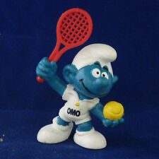 """Werbeschlumpf Tennis """"OMO""""  !!  Schleich"""