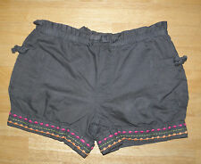 GYMBOREE BATIK SUMMER DARK GREEN STITCH SHORTS SZ GIRLS 9 SUMMER