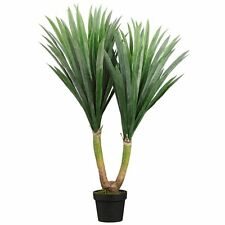 "43"" ARTIFICIAL PLANT IN OUTDOOR YUCCA PALM TREE TOPIARY PATIO DECK POOL POTTED"