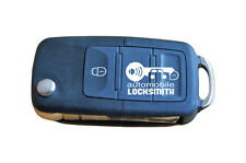 used Skoda Octavia Fabia Superb 3 button flip remote key fob HL0 1K0 959 753 G