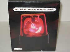 Rotating Police Party Light - Lighting Equipment, Raves, DJ's, Dance Parties RED