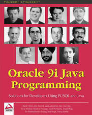 Oracle 9i Java Programming: Solutions for Developers Using PL/SQL and-ExLibrary