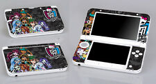 Monster High 348 Vinyl Decal Cover Skin Sticker for Nintendo 3DS XL/LL