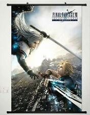Final Fantasy VII Cloud Strife Sephiroth Home Decor Poster Wall Scroll 60*90 C79