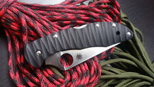Spyderco Delica 4, Custome scales, handle for knife   Enco, G10 (only handle)