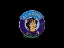 ALADDIN 35-43 WDW Magic Kingdom HEROES PARKING Lot SIGN Disney pin