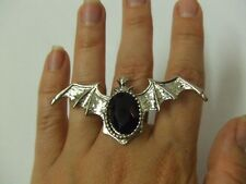 Bat Ring ~ Adjustable  ~ Vampire ~ Witch ~ gothic ~ Halloween