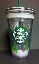 New Starbucks 2011 Christmas Cup Create your Own Tumbler Insulated 16 Oz