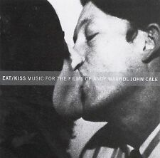 JOHN CALE - Eat/Kiss: Music For The Films Of Andy... CD NEW/ STILL SEALED RARE