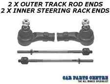 FOR FORD FOCUS MK1 2 OUTER TRACK ROD ENDS 2 INNER STEERING RACK ENDS BRAND NEW