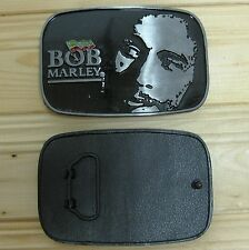 Bob Marley Jamaica music belt buckle