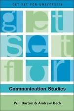 Get Set for Communication Studies (Get Set for University), Will Barton, Andrew