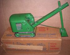 VINTAGE STRUCTO No.105 HEAVY DUTY STEAM SHOVEL W/ORIGINAL BOX ***NICE***