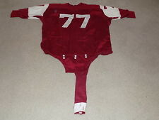 Temple Owls Game Worn Football Jersey 1960s Dureen #77