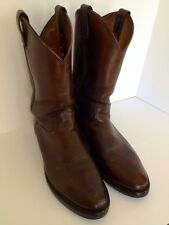 CHIPPEWA Cowboy Western Work Construction Boots Brown 11D