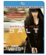 Salt [Unrated]  [Deluxe Edition] (2010, Blu-ray NEUF) BLU-RAY/WS