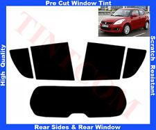 Pellicola Oscurante Vetri Auto Pre-Tagliata Suzuki Swift 5P 2011... da 5% a 50%