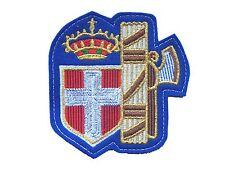 TOPPA ricamata SAVOIA ITALIA nazionale CAMPIONI MONDO patch Stickerei ricamo