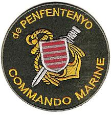MARINE       COS        COMMANDO   de   PENFENTENYO        patch  thermocollable