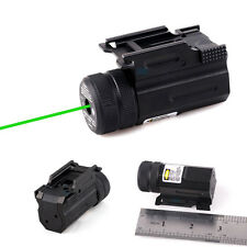 Mini Tactical Green Laser Sight Scope Picatinny Rail Mount For Rail Glock SW M&P